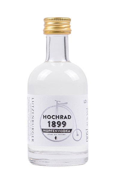 Hochrad 1899 Hopfenvodka 0,05 l 42% Alk.