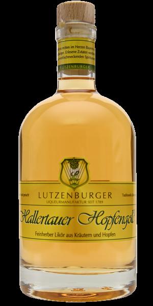 Hallertauer Hopfengold exklusiv, 0,2 l 56 % Vol.