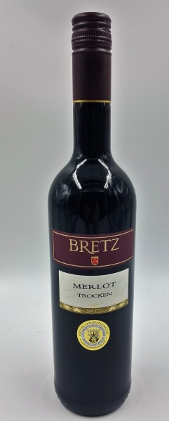 Merlot trocken Weingut Bretz