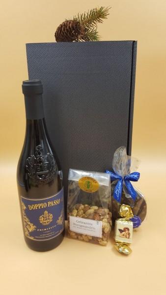Weinpräsent Doppio Passo Primitivo