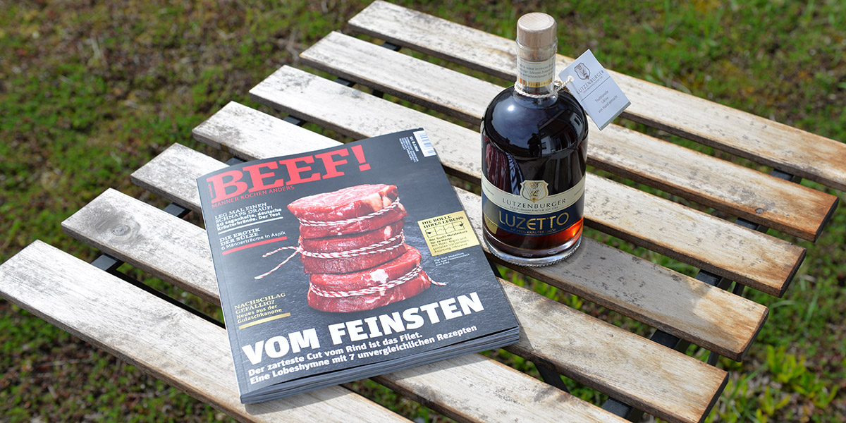 Beef! 2/2018 und Luzetto 0,5 l