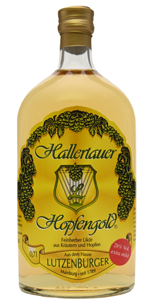 Hallertauer Hopfengold 0,7 l 28 % Vol.