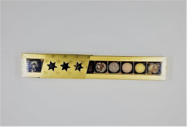 Trüffelpackung Goldstern 10er