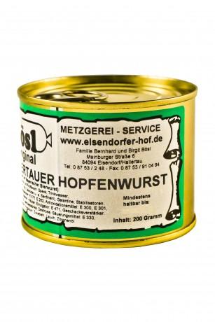Hallertauer Hopfenwurst