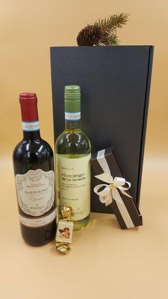 """Weinpräsent """"Italienischer Weingenuß"""""""