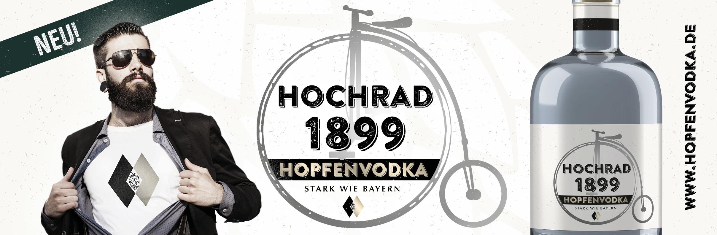 Hochrad 1899 Hopfenvodka